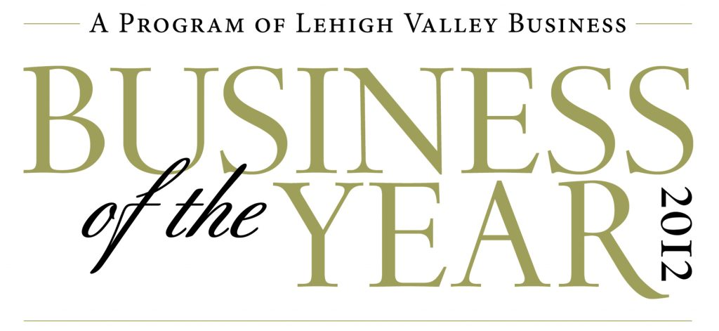 Business Of The Year 2012 Logo