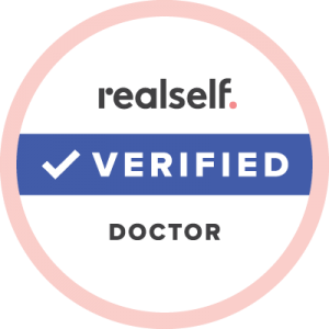 Realself Verified Doctor Logo | Young Medical Spa | Central Valley PA, Lansdale PA, Forty Port PA