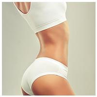 Woman Curvy Body Side