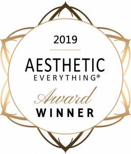 2019 Aesthetic Everything Award Winner