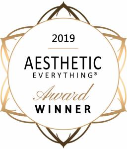 2019 Aesthetic Everything Award Winner